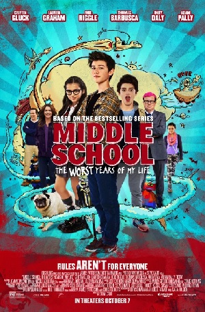 Middle School: The Worst Years of My Life - Listen to your kids