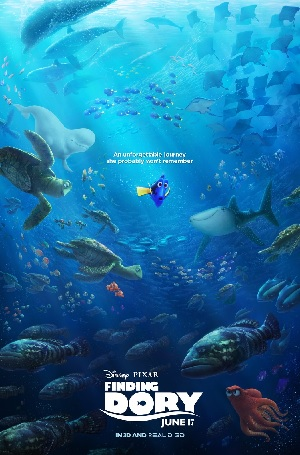 Finding Dory - Never Give Up (or just keep swimming!)