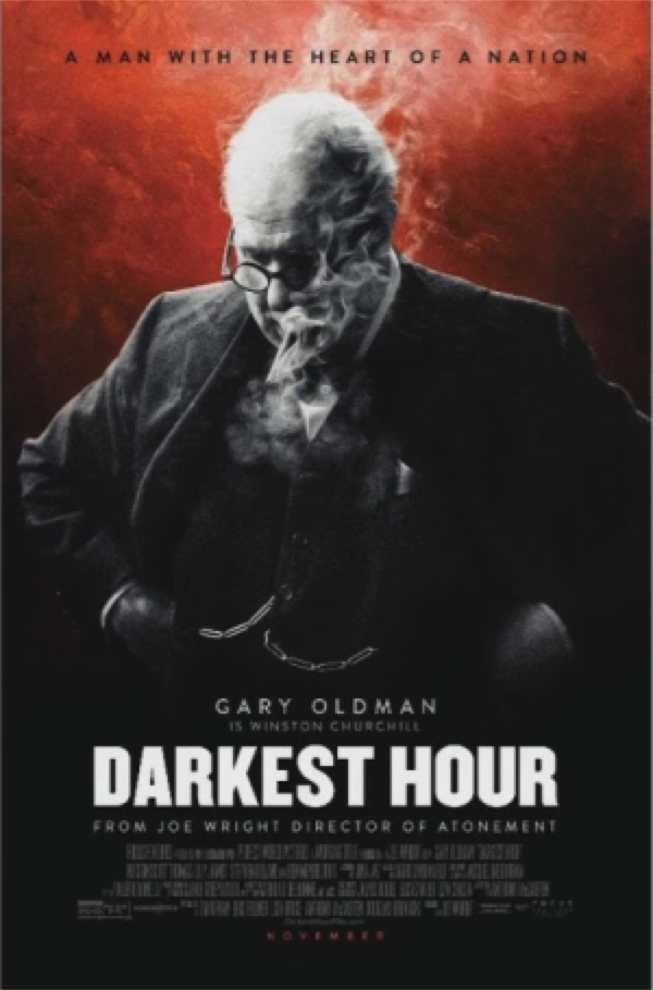 Darkest Hour - always forward in courage