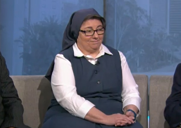 Sister Rose on Fox 11 News