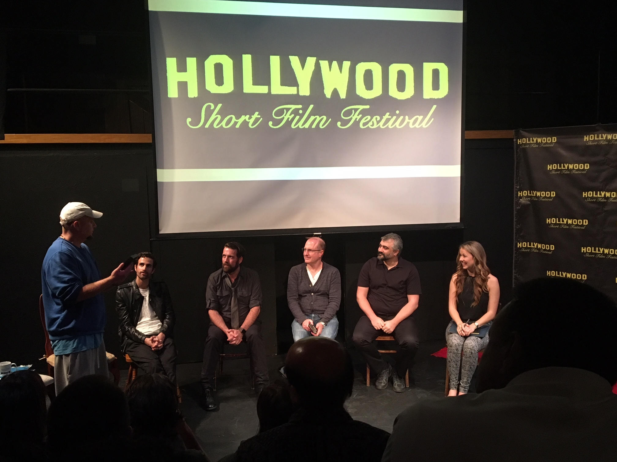 Paulines at the Hollywood Short Film Festival