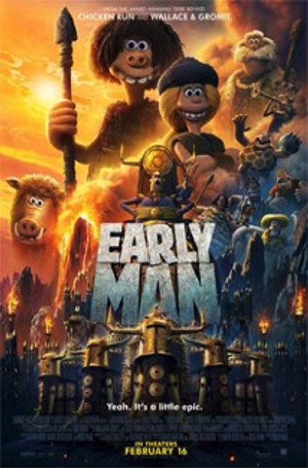 Early Man - a creative solution to a problem