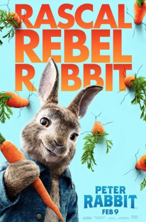 Peter Rabbit - Causing mayhem, fun but bad. Contrition, good.