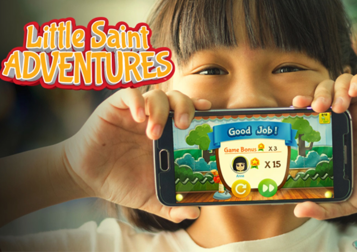 Little Saint Adventures - A New Catholic App for Kids and Parents