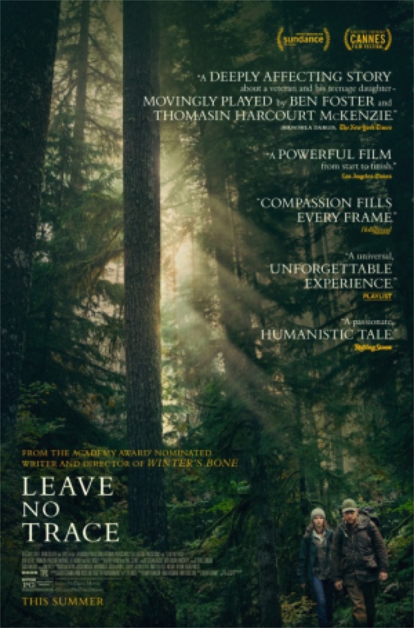 Leave No Trace - and two other father-daughter films