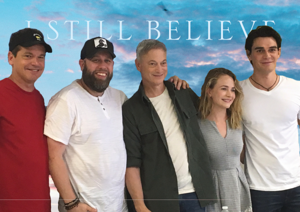 I Still Believe—Gary Sinise and KJ Apa to star in the Erwin Brothers' biopic of Christian music artist, Jeremy Camp